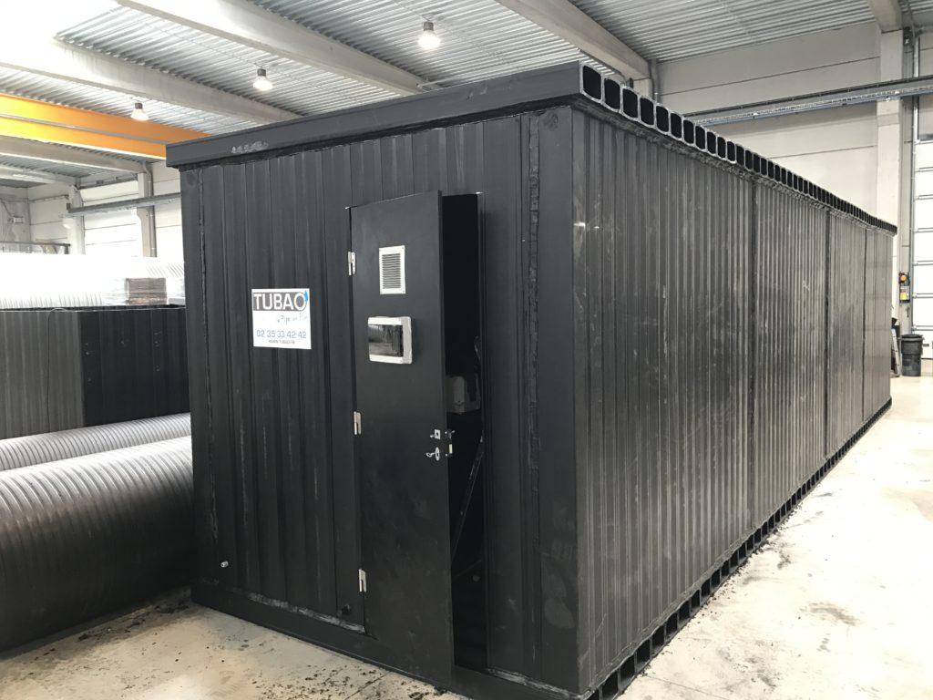 Mini station d'épuration
