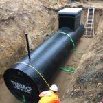 ORLEANS - Cuve enterrée de 6 m3 destinée à contenir du nitrate de calcium