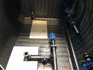 Réservoir Eau Potable avec chambre de surpression