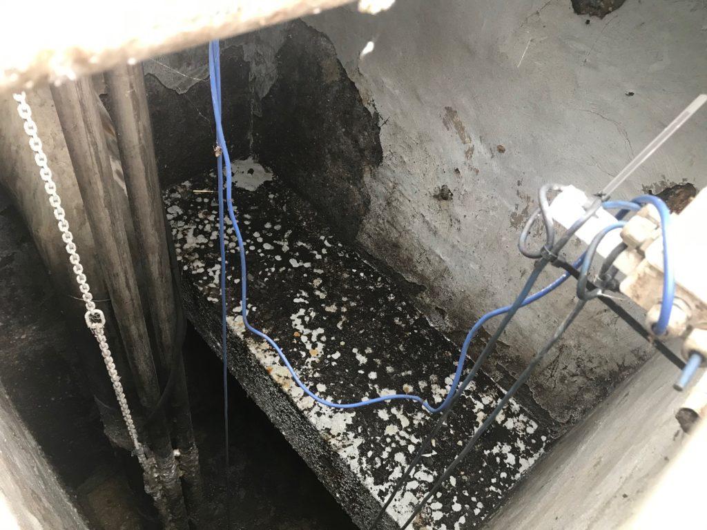 Réhabilitation en PEHD WEHOLITE d'un poste de relevage en béton fortement dégradé par l'H2S