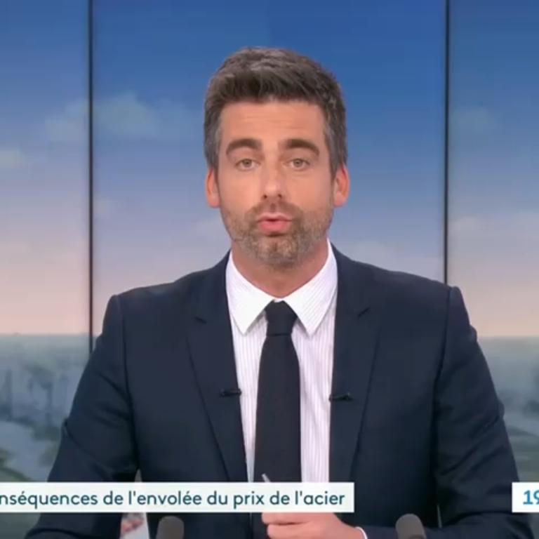 France 3 Normandie - reportage sur l'impact de la hausse des matières premières sur les PME Normande