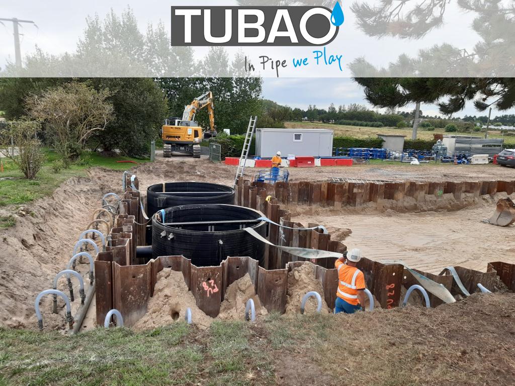 Réhabilitation d'une station d'épuration avec ajout d'un bassin stockage-restitution